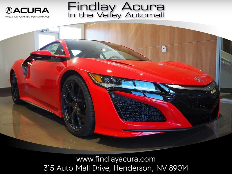 New 2018 Acura Nsx Coupe Coupe In Henderson 180681 Findlay Auto Group