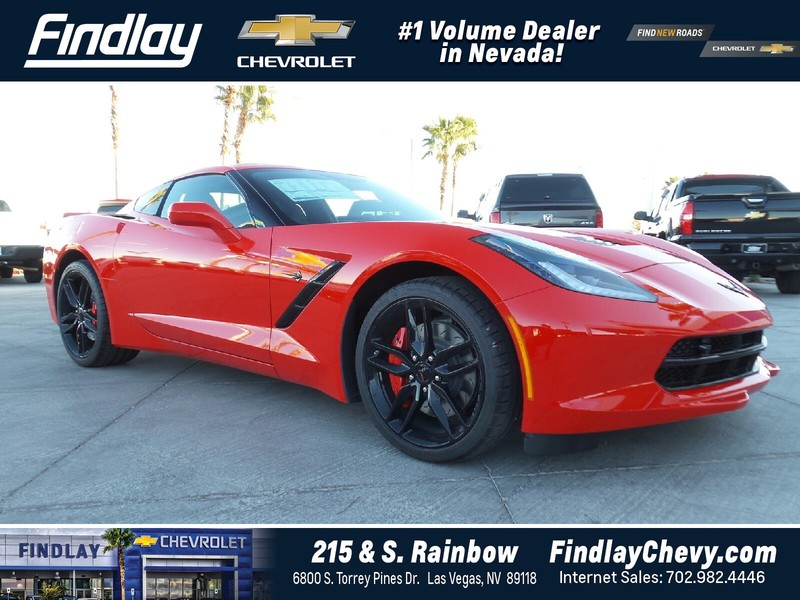 new 2017 chevrolet corvette 2dr stingray z51 cpe w 2lt coupe in las vegas 114829 findlay auto. Black Bedroom Furniture Sets. Home Design Ideas