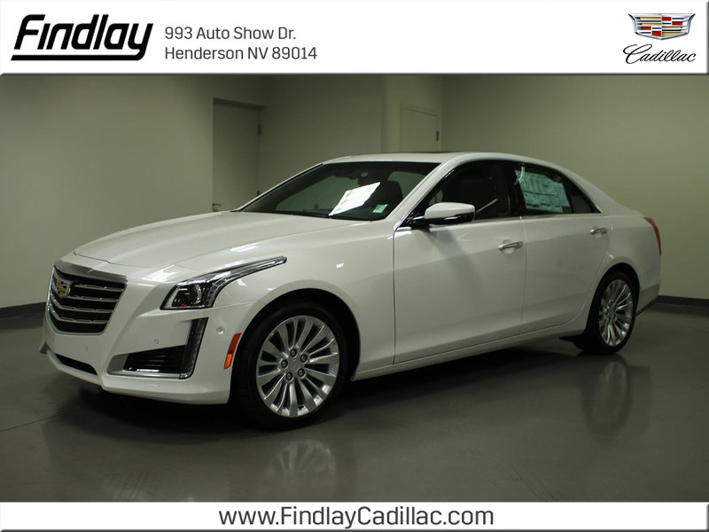 New 2018 Cadillac Cts Premium Luxury Rwd 4 Dr Sedan In Henderson