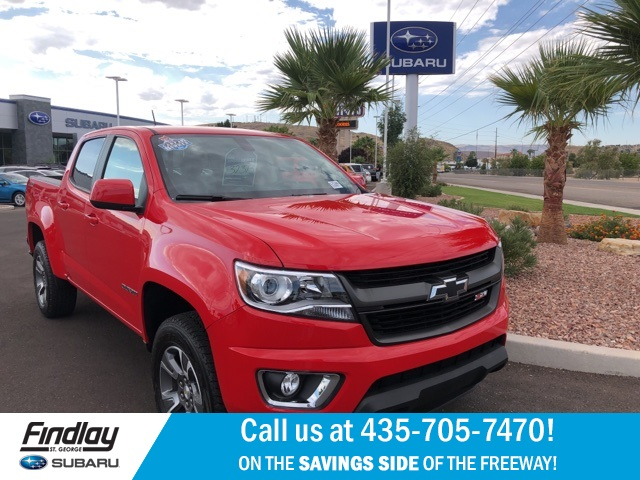 Pre Owned 2017 Chevrolet Colorado Z71 4wd