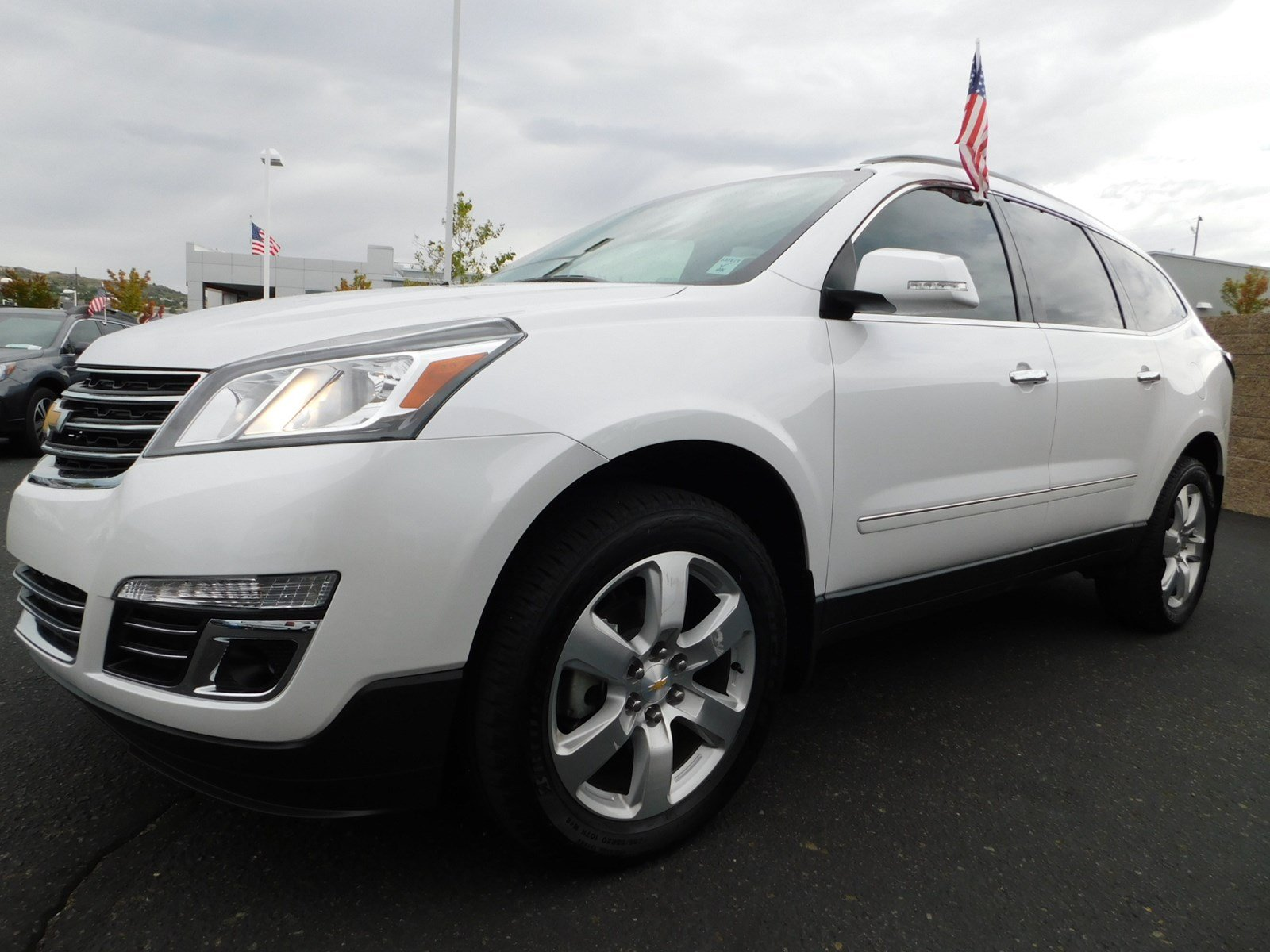 Pre Owned 2017 Chevrolet Traverse Premier Sport Utility In Prescott 2008 Infiniti Fx35 Oem Remote Start With Smartphone Control Free