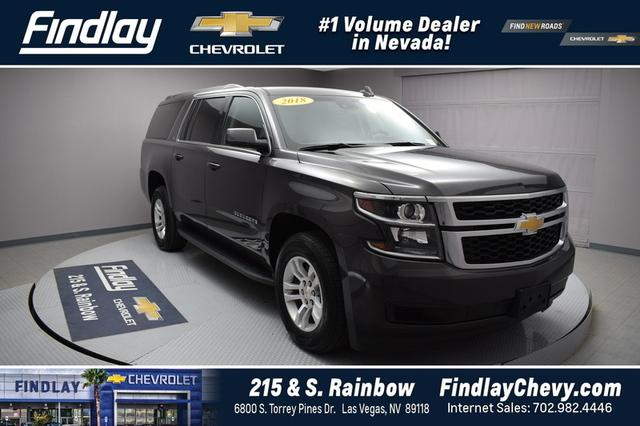 Certified Pre Owned 2018 Chevrolet Suburban LT