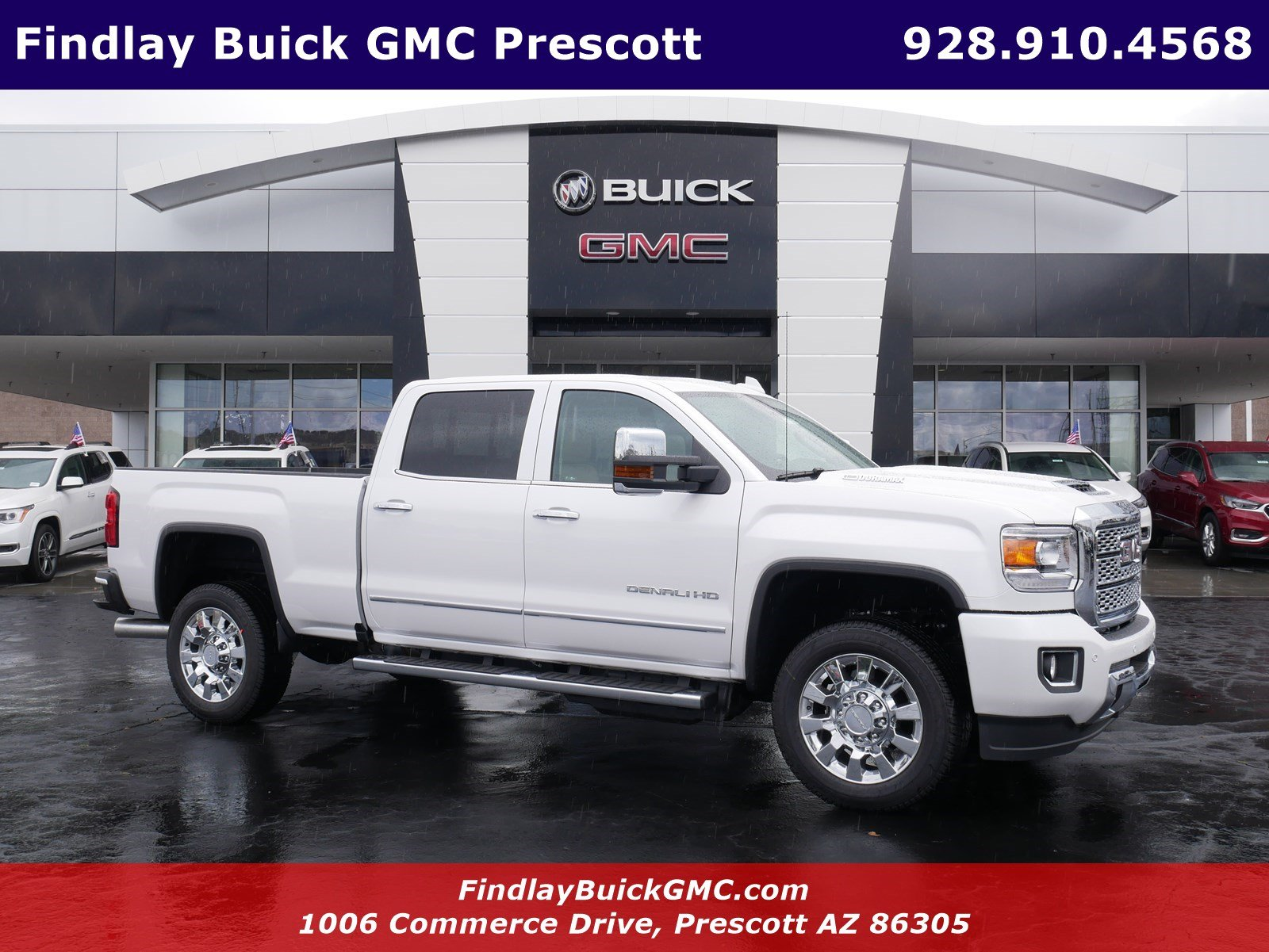 New 2018 Gmc Sierra 2500hd Denali Crew Cab Pickup In G40272 Dual Battery Kit