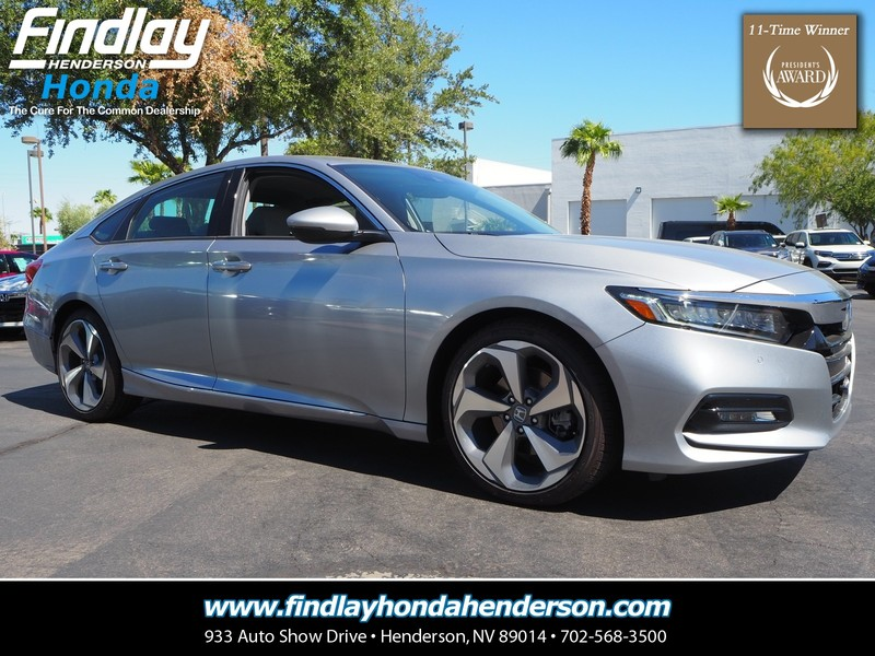 New Honda ACCORD SEDAN TOURING T Sedan In Henderson T - 2018 acura tsx navigation