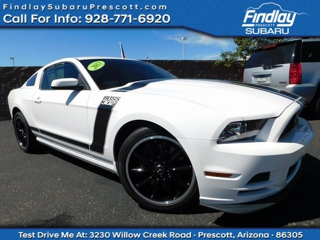 Pre Owned 2013 Ford Mustang Boss 302 2dr Car In Prescott Ps1221