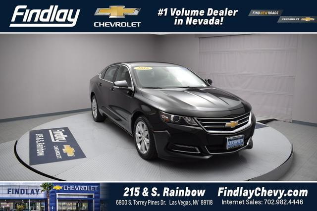 Certified Pre Owned 2018 Chevrolet Impala LT