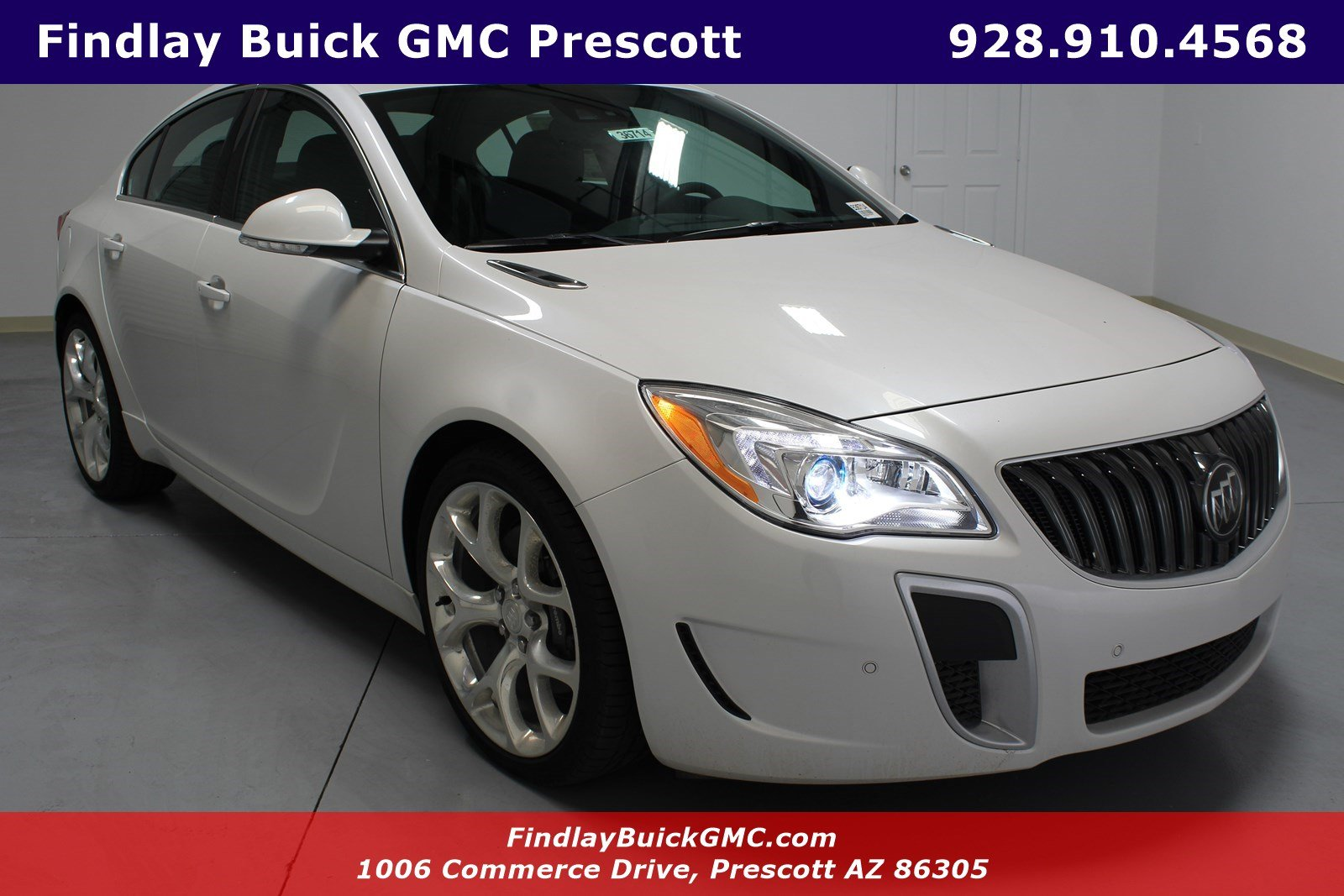 New 2017 Buick Regal Gs 4dr Car In B36714 Findlay Auto Group
