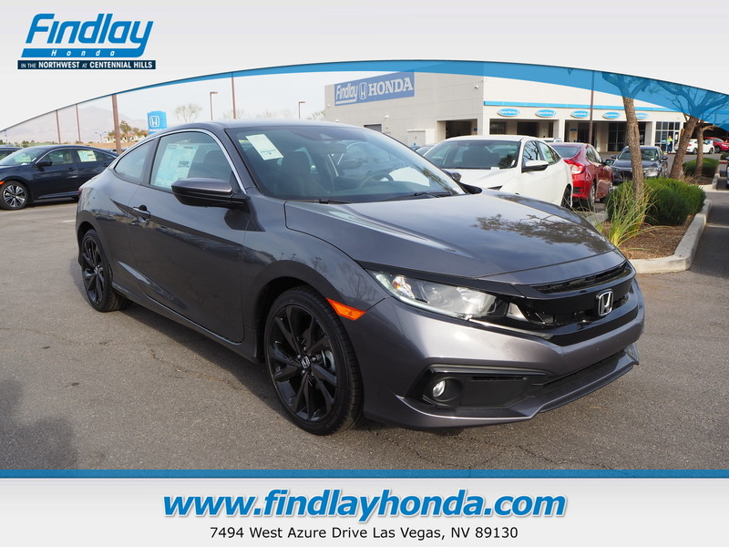 New 2019 Honda Civic Sport Coupe In Las Vegas 19309 Findlay Auto