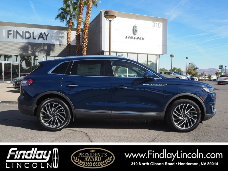 New 2019 Lincoln Nautilus Reserve Sport Utility In Henderson L19043