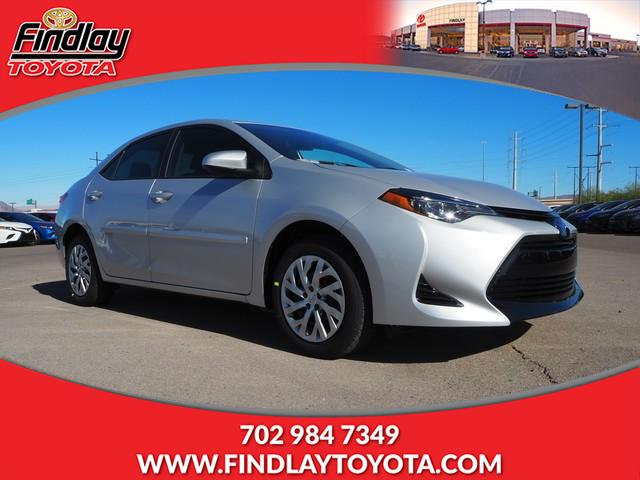 New 2019 Toyota Corolla Le Cvt 4dr Car In Henderson 190734