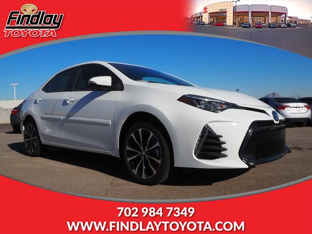 New 2019 Toyota Corolla Se Cvt 4dr Car In Henderson 190325