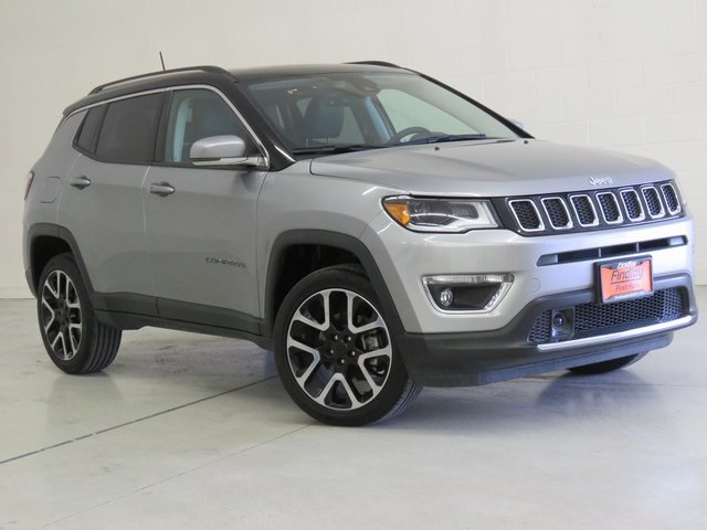 New 2017 Jeep Compass Limited 4d Sport Utility In Post Falls