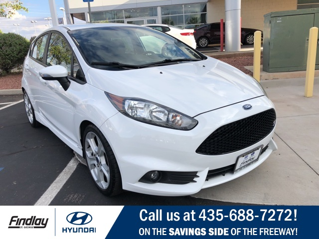 Pre Owned 2014 Ford Fiesta St 4d Hatchback In St George Sh4998