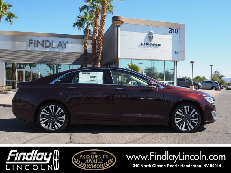 New 2019 Lincoln Mkz Reserve Ii Sedan In Henderson L19021 Findlay
