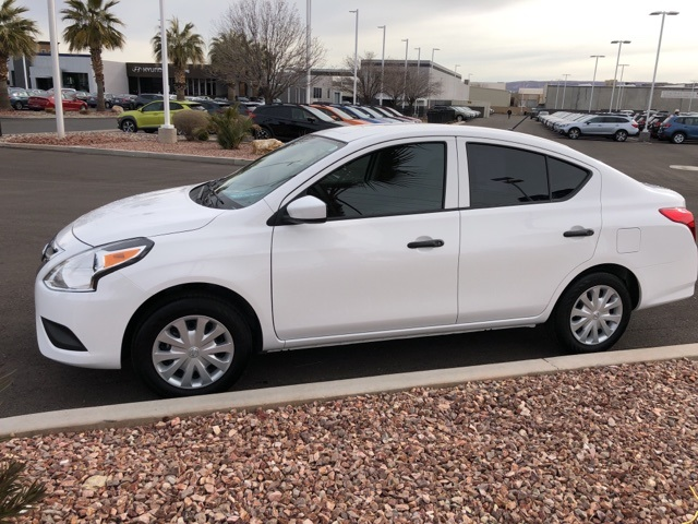 pre-owned 2017 nissan versa 1.6 s 4d sedan in st george #su4002a