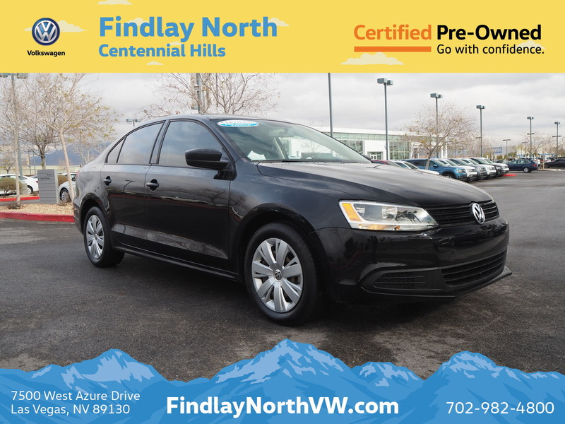 Certified Pre-Owned 2014 Volkswagen Jetta 4DR MAN TDI VALUE EDITION