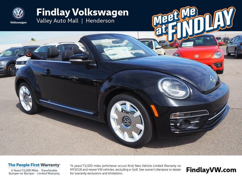 New 2019 Volkswagen Beetle FINAL EDITION SEL AUTO