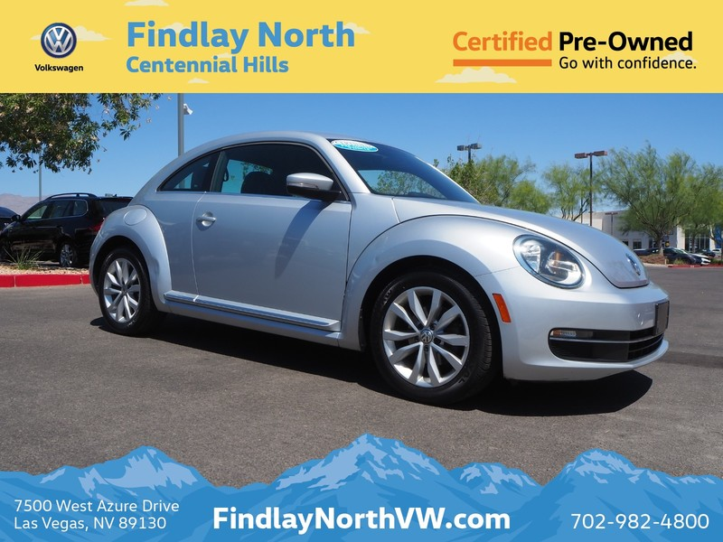 Certified Pre-Owned 2013 Volkswagen Beetle 2DR MAN 2.0L TDI
