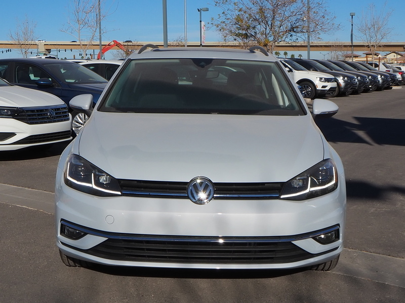 New 2019 Volkswagen Golf Sportwagen Se Wagon In Las Vegas K501741