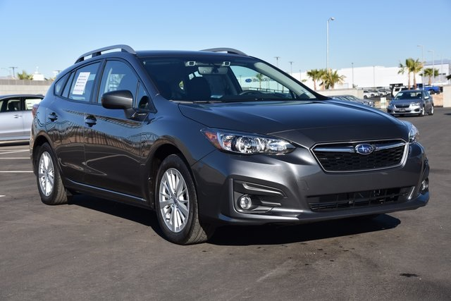 new 2018 subaru impreza premium 4d hatchback in las vegas l11946 findlay auto group. Black Bedroom Furniture Sets. Home Design Ideas
