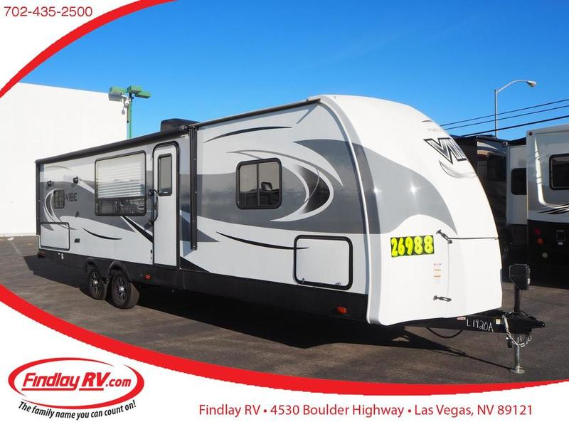 Pre-Owned 2018 Forest River Vibe Midwest 268RKS