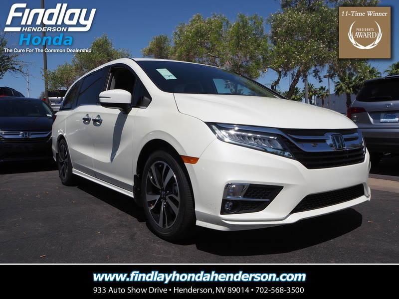 Perfect New 2019 Honda Odyssey ELITE