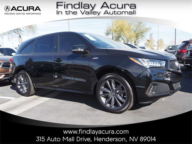 New 2019 Acura MDX 3.5L Technology Pkg w/A-Spec Pkg