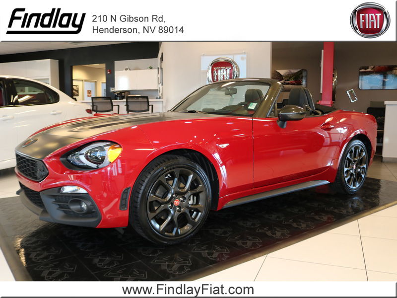 New 2019 Fiat 124 Spider Elaborazione Abarth Convertible In