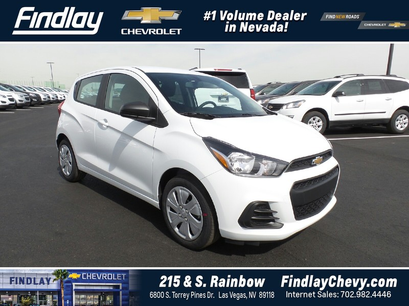 new 2017 chevrolet spark 5dr hb cvt ls hatchback in las vegas 786362 findlay auto group. Black Bedroom Furniture Sets. Home Design Ideas