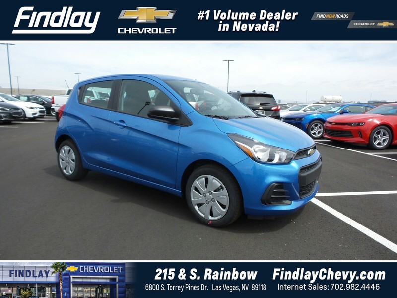new 2017 chevrolet spark 5dr hb cvt ls hatchback in las vegas 805383 findlay auto group. Black Bedroom Furniture Sets. Home Design Ideas