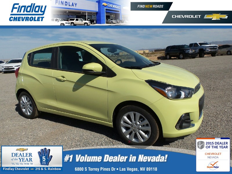 new 2017 chevrolet spark 5dr hb cvt lt w 1lt hatchback in las vegas 721179 findlay auto group. Black Bedroom Furniture Sets. Home Design Ideas