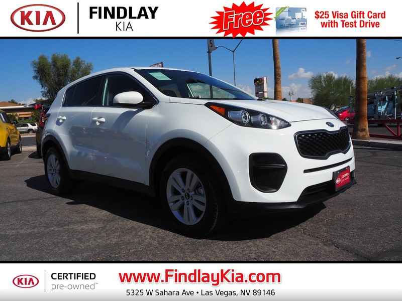 Certified Pre Owned 2018 KIA SPORTAGE LX