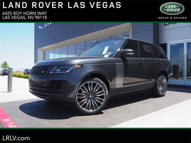 Range Rover Las Vegas >> New 2019 Land Rover Range Rover 3 0l V6 Supercharged Hse With Navigation 4wd