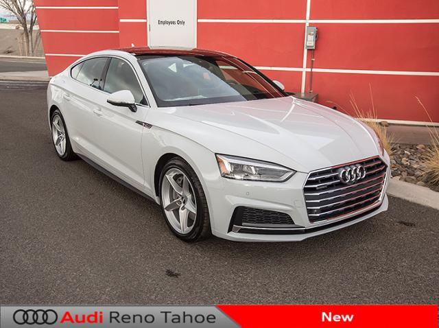 new 2018 audi a5 sportback 2 0 tfsi prestige 4dr car in reno a50707 findlay auto group. Black Bedroom Furniture Sets. Home Design Ideas