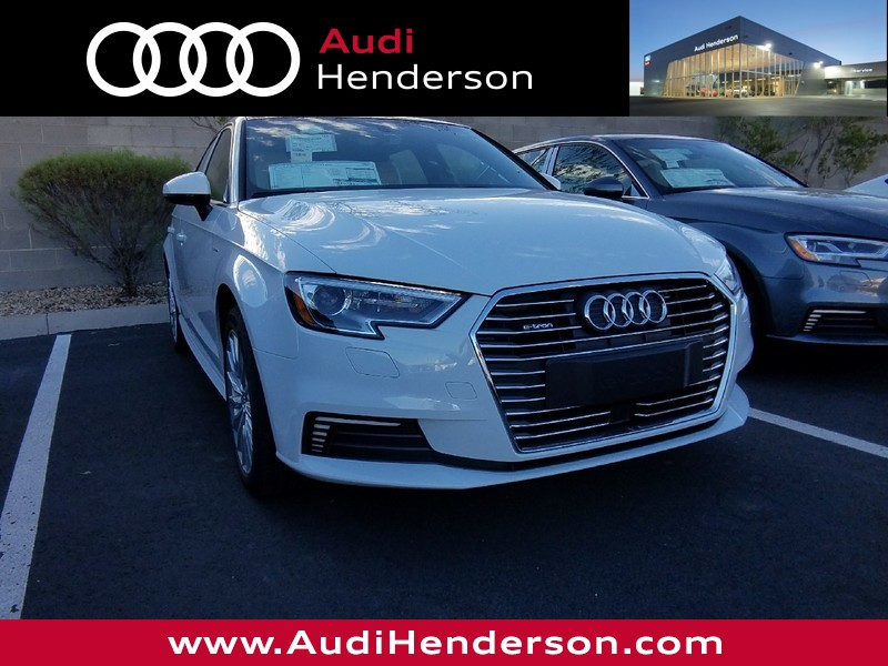 New Audi A ETRON Sportback In Henderson A Findlay - Audi a3 etron