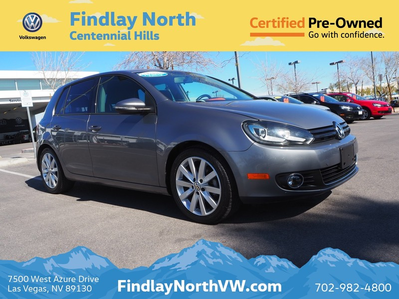 Certified Pre-Owned 2011 Volkswagen Golf 4DR HB MAN TDI