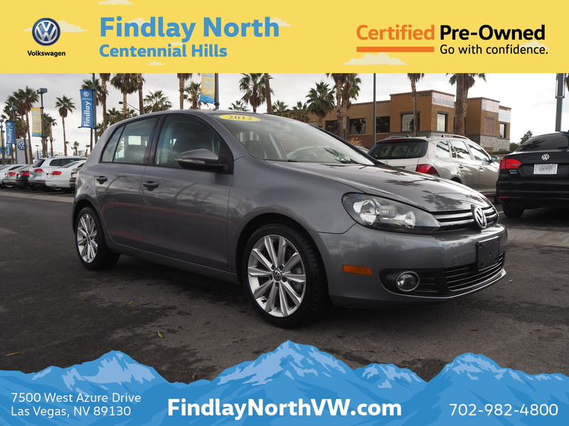Certified Pre-Owned 2012 Volkswagen Golf 4DR HB MAN TDI