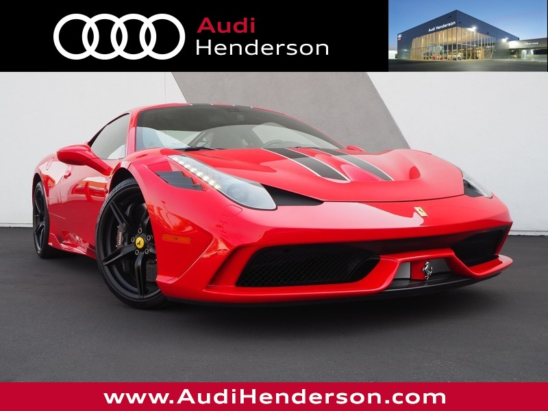 Pre-Owned 2015 FERRARI 458 ITALIA SPECIALE 2dr Car in Henderson ...