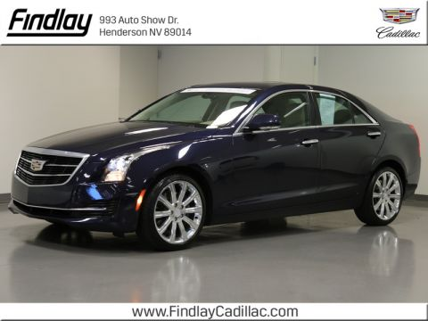 Certified Pre-Owned 2016 Cadillac ATS 2.0L Luxury AWD