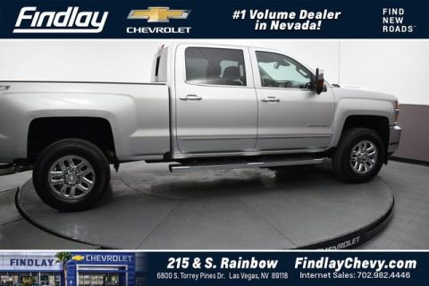 Pre-Owned 2017 Chevrolet Silverado 2500HD LTZ