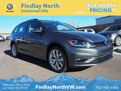 New 2019 Volkswagen Golf Sportwagen Se Wagon In Las Vegas K502289