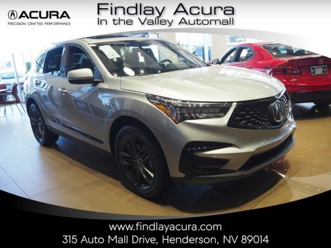New 2019 Acura Rdx Awd W A Spec Pkg Sport Utility In Henderson 190376 Findlay Auto Group
