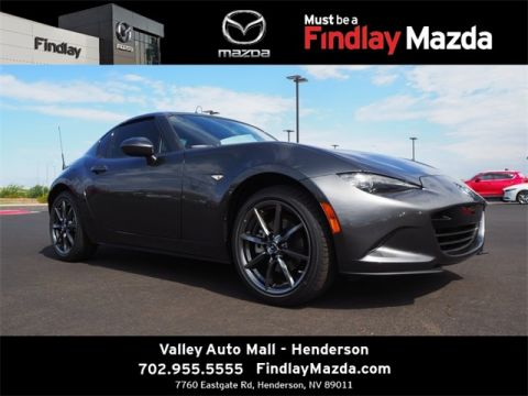 New 2019 Mazda Miata RF Grand Touring 2D Convertible in